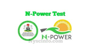 How to Write Npower Test