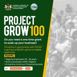 FG/Tiimafrica Grant