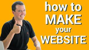 How to Create a Website with your Phone