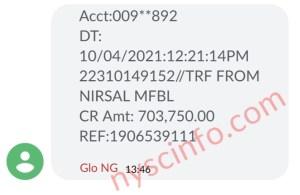 CBN Nirsal Covid19 Loan Disbursement Ongoing