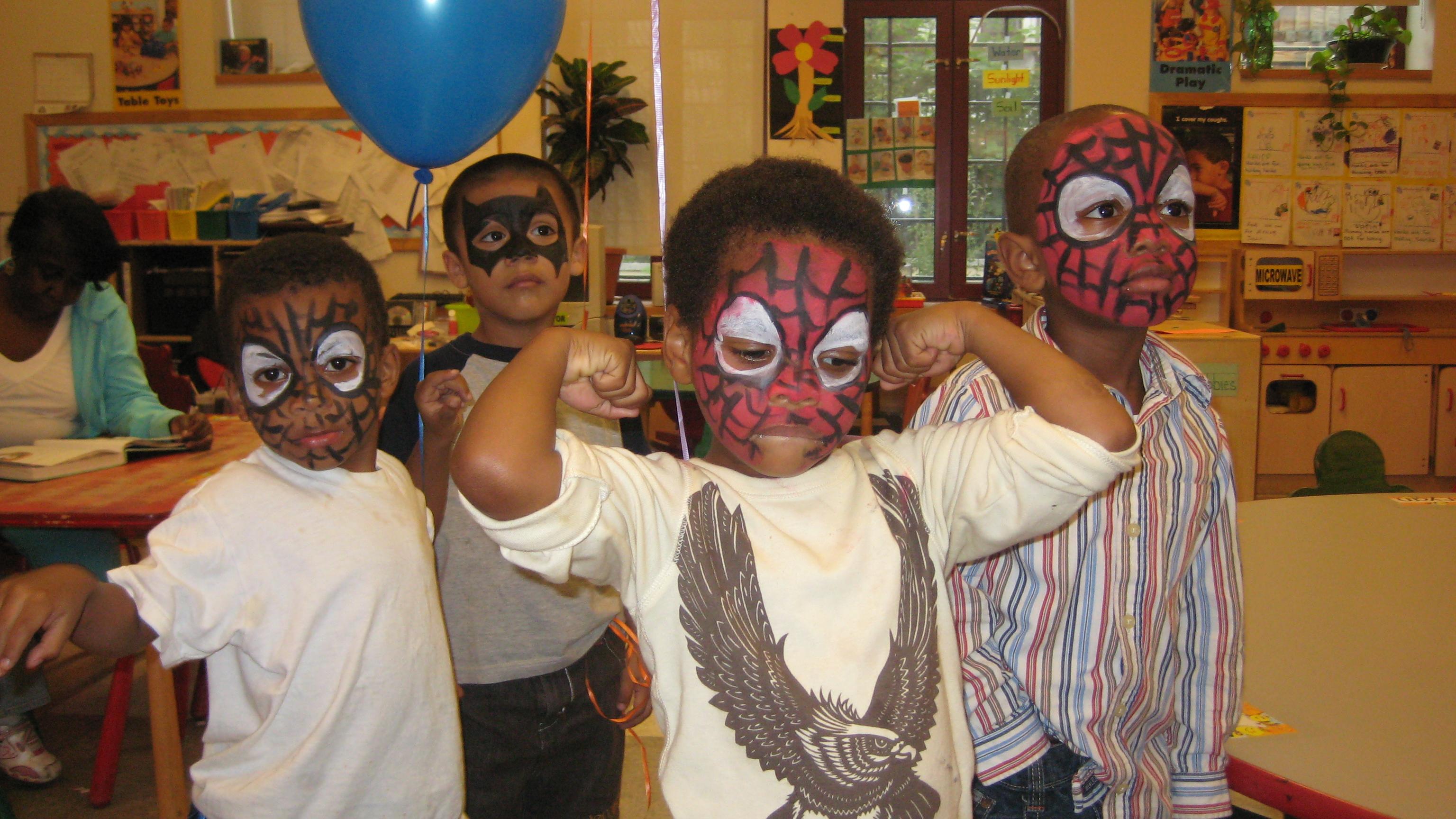 Group of spidermen!