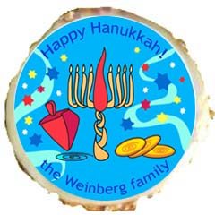 Hanukkah Cookie Design