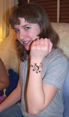 More henna designs....