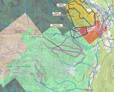 Gore Mountain Expansion Map.