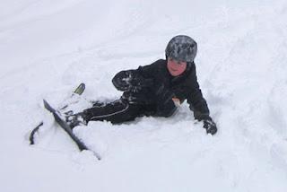 Fresh Snow at Mount Peter NY.