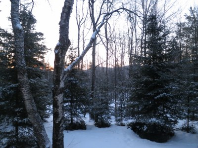 Sunrise in North River