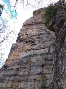 Gunks-Climbing
