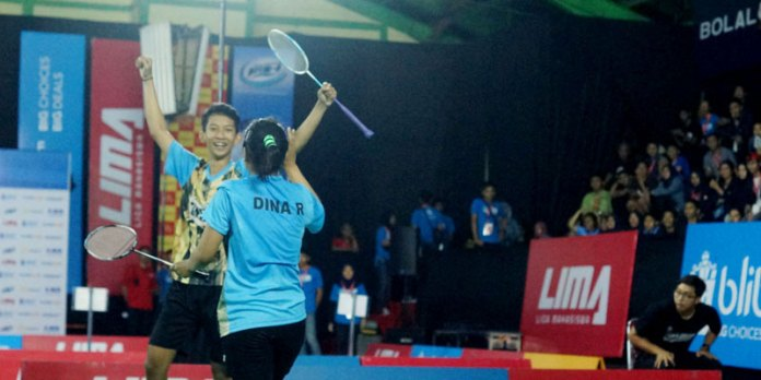 Final LIMA Badminton Nasionals 2017 diadakan di Bandung mulai 16-23 Mei 2017