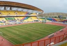 Stadion Wibawa Mukti, Bekasi. Tempat akan diadakannya kualifikasi U-16 & U19 Piala Asia. Foto : skycrappercity.com