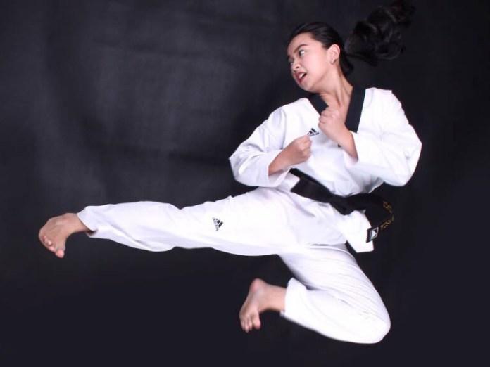 Rizkia Asnari Anwar, juara Taekwondon Internasional yang menang berkat rasa penasaran diri sendiri yang besar.