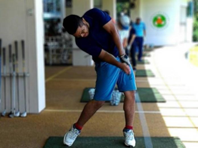 Thariq yang sudah mewakili Indonesia sebanyak 4 kali di ajang Golf Internasional