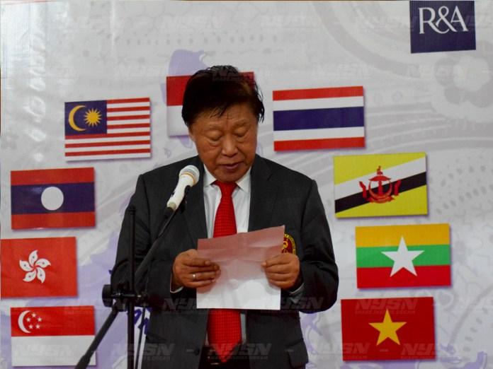 Pidato-pembukaan-Presiden-Golf-Indonesia-Murdaya-Widyawimarta