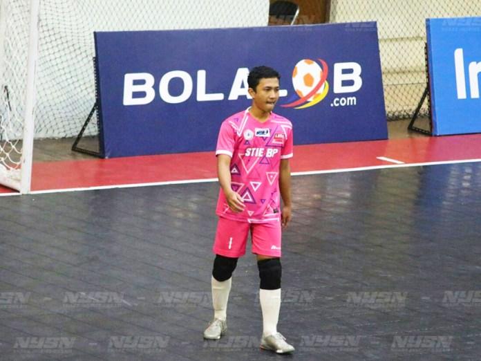 Cesar, Kiper STIE BP yang berhasil mendapatkan predikat kiper terbaik pada ajang LIMA Futsal Nationals 2017