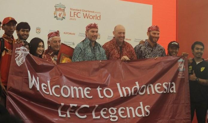 Legenda Liverpool FC hadir dan mengunjungi Jakarta hingga akhir pekan nanti. (Prast/NYSN)