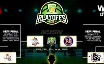 Grand final Indonesian Basket League (IBL) 2017/2018, akan mulai berlangsung pada Kamis (19/4) di Britama Kelapa Gading, Jakarta. (instagram)