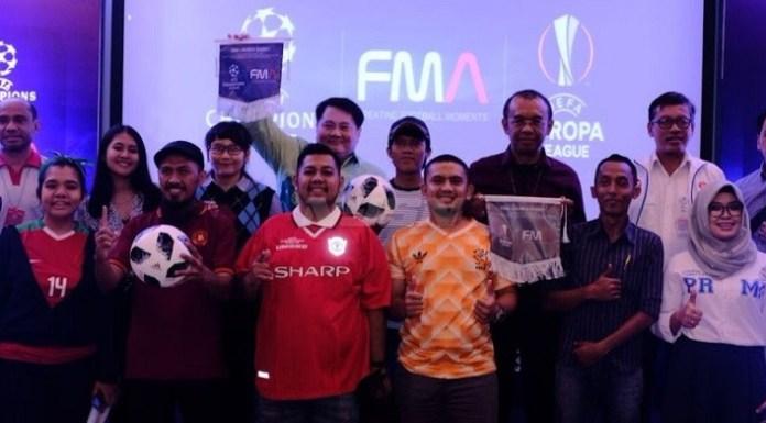 Hak lisensi penayangan Liga Champions, Liga Europa, dan Piala Super Eropa musim 2018-2019 hingga 2020-2021, akhirnya dimiliki oleh PT Futbal Momentum Asia (FMA). (ham/NYSN)