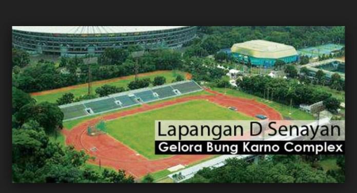 Lapangan D di kawasan GBK,Senayan, Jakarta, yang akan disulap menjadi venue lapangan rugbi berstandar internasional jelang event Asian Games 2018. (net)