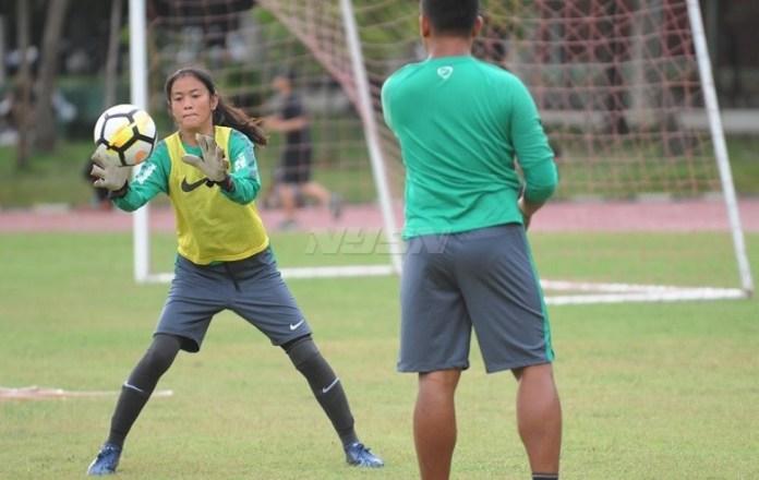 Pelatih Timnas Putri U-16, Rully Nere, akan merilis daftar pemain terpilih dalam event AFF U-16 Girls Championship 2018, pada Kamis (26/4). (Pras/NYSN)