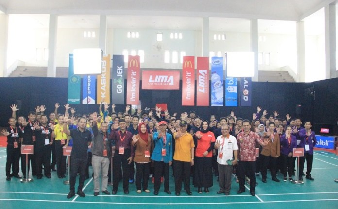 UIN Maulana Malik Ibrahim (UIN Maliki) Malang menjadi salah satu host subconference dari East Java Conference (EJC) dalam perhelatan LIMA Badminton 2018. (LIMA)