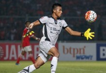 Kiper Sriwijaya FC, Teja Paku Alam, akhirnya mendapat pangglan membela Timnas U-23 jelang uji coba kontra Thailand U-23. (bola.net)