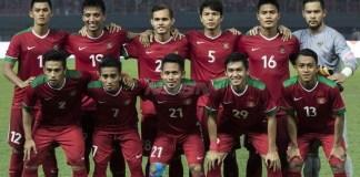 Ranking FIFA pada 17 Mei 2018 menempatkan Timnas Indonesia di posisi 164 dunia, yang sejajar dengan Guyana dan Nepal. (bola.com)