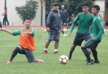 TC Timnas U-19 yang berlangsung hingga 27 Mei 2018, di Stadion Universitas Negeri Yogyakarta (UNY), diperpanjang hingga 2 Juni. (bola.com)