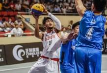Timnas 3X3 putra Indonesia (putih) untuk Asian Games 2018 dijadwalkan mengikuti FIBA 3x3 U23 Nations League 2018 di Mongolia. (mainbasket.com)