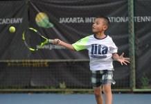Jakarta International Tennis Academy (JITA) konsisten membangun karakter bibit-bibit petenis muda berbakat dengan prestasi internasional. (Pras/NYSN)