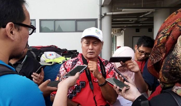 Kepala Pelatih Pelatnas Panahan, Denny Trisjanto berharap performa top atlet panahan pada Asian Games 2018. (Adt/NYSN)