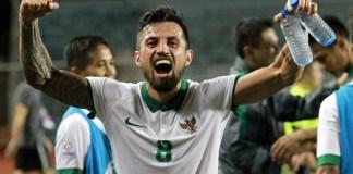 Stefano Lilipaly dipanggil pelatih Timnas U-23, Luis Milla mengikuti uji coba melawan Korea Selatan U-23, akhir pekan ini, di Stadion Pakansari, Bogor. (goal.com)
