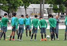 Timnas U-16 melakukan TC tahap berikutnya di Sidoarjo, Jawa Tiur, jelang persiapan event Piala AFF U-15 2018 di Indonesia akhir Juli. (Bola.com)