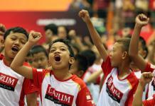 Audisi Umum Djarum Beasiswa Bulutangkis 2018 dibuka dengan tahap screening yang digelar, di GOR Satria, Purwokerto, Sabtu (21/7). (bola.com)