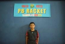 Muhammad YMuhammad Yusuf Arfan saat ditemui di GOR Kembangan, Jakarta Barat.usuf Arfan senang bergelut di dunia olahraga bulutangkis sejak kelas 1 Sekolah Dasar