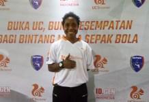 Terdapat 11 talenta muda sepak bola yang tergabung pada Uni Papua UC Football Ambassador Team untuk mengikuti program pelatihan sepak bola secara intensif di Jakarta. (Adt/NYSN)