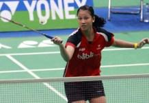 Aisha Galuh Maheswari meraih dua emas di cabor bulutangkis pada nomor perseorangan tunggal putri dan beregu putri, dalam ajang ASEAN School Games (ASG) 2018 di Juara Stadium, Kuala Lumpur, Malaysia. (pbdjarum.org)