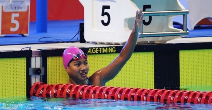 Syuci Indriani penyandang tunagrahita dengan IQ di bawah 75. Syuci membela kontingen Indonesia menjadi atlet Para Renang dalam klasifikasi S14. Atlet berusia 17 tahun asal Riau ini menyumbang empat medali, bagi tim merah putih dalam ajang Asian Para Games 2018. (Riz/NYSN)