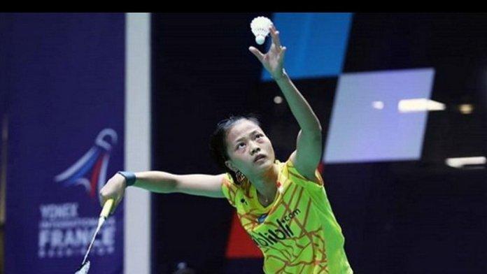 Unggulan tujuh tunggal putri asal Indonesia, Fitriani, akhirnya melenggang ke babak kedua (16 besar) kejuaraan bulutangkis SaarLorLux Open 2018 BWF Tour Super 100, di Saarbrucken, Jerman. Ia menyudahi wakil Taiwan, Chang Ya Lan, dalam laga 24 menit, dengan skor meyakinkan 21-12, 21-13, pada Rabu (31/10). (tiwtter.com)