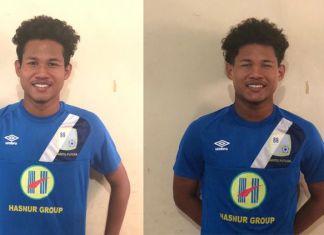 Klub Liga 1 asal Kalimantan Selatan, Barito Putera resmi mengontrak selama lima tahun, duet kebar bintang Timnas U-16 asal Magelang, Amiruddin Bagas Kaffa Arrizqi (kiri), dan Amiruddin Bagus Kahfi Alfikri (kanan), atau Bagas-Bagus. (twitter/@PSBaritoPutera)