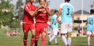 Babak 8 Besar Elite Pro Academy Liga 1 U-16, tim Persija Jakarta U-16 (oranye) akhirnya bergabung dalam Grup X, yang akan tampil di Banjarmasin, Kalimantan Selatan. Event ini akan bergulir 1-4 Desember di dua stadion yakni Stadion 17 Mei dan Stadion Demang Lehman. (Persija.co)