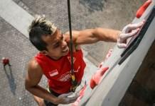 Juara dunia speed world record Wujiang 2018, China, Aspar Jaelolo, mengaku dirinya tak akan tampil dalam ajang multievent SEA Games 2019 Filipina. Ia memilih untuk fokus mengumpulkan poin, menuju Olimpiade 2020 Tokyo, Jepang. (app.kurio.co.id)