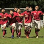 Pada pertandingan di Lapangan Pecatu, Badung, Bali, Kamis (6/12), Timnas Pelajar U-15 berhasil menaklukkan wakil China, Hubei FA, dengan skor 3-1. Anak asuh Firman Utina ini lolos ke final Bali International Football Championship 2018 Piala Menpora U-15, yang rencananya berlangsung pada Sabtu (8/12). (Kemenpora)