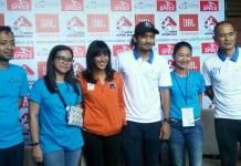 Ibnu Jamil, Founder YOAN Foundation (ketiga dari kanan), menyebut Yoan Soccer Festival 2018 adalah ajang menjaring 17 pemain terbaik U-12, yang berasal dari 32 tim SD (Sekolah Dasar) se-Jabotabek, untuk mewakili Indonesia di Junior Singapore Soccer League 2019, di Singapura. (Adt/NYSN)