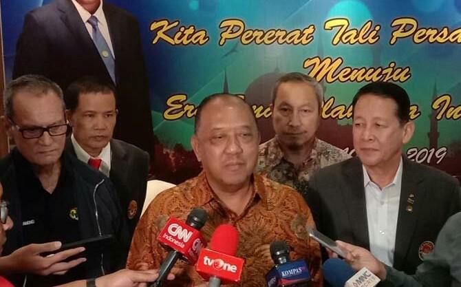 Letjen TNI (Purn) Marciano Norman maju sebagai bakal calon Ketua Umum KONI Pusat periode 2019-2023. (Adt/NYSN)