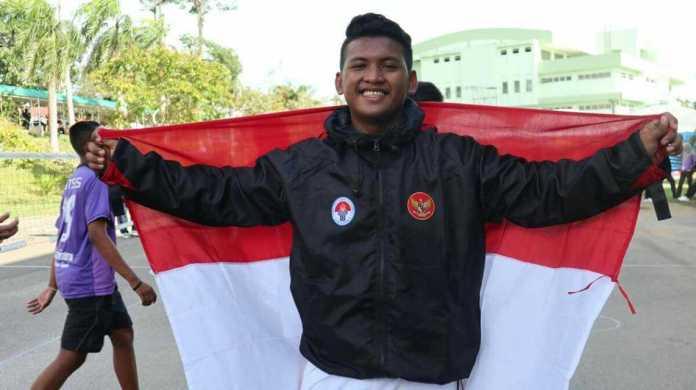 Heru Jatmiko andalan Indonedia di ajang ASEAN School Games 2019. (Kemenpora)