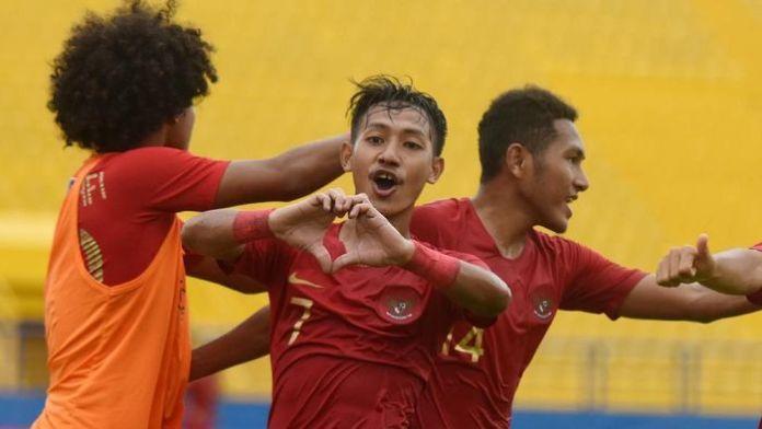 Timnas Indonesi melaju ke semifinal setelah mengalahkan Myanmar 2-1, Senin (12/08/19). Foto: Detik.com