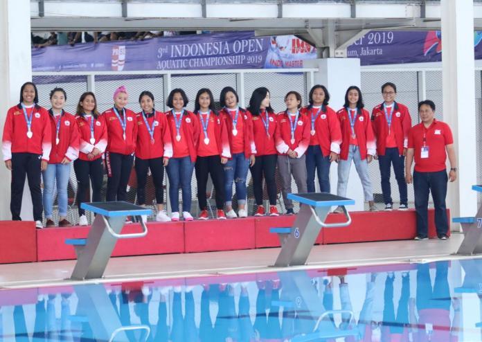 Polo Air putri Indonesia IOAC 2019