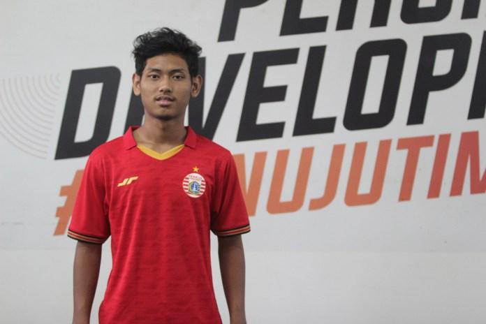 Salah satu pemain muda Persija Jakarta, Salman Alfarid. (Sumber: Persija.id)