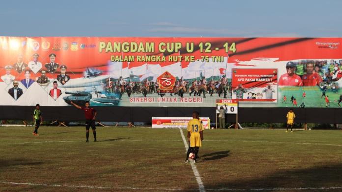 Pangdam Cup Rampung, Sekolah Khusus Sepak Bola Segera Dibentuk