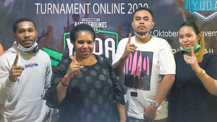 Jaring Atlet Muda Berbakat, Calon Bupati Nabire Gelar Turnamen eSports