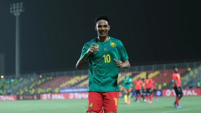 Etienne Eto'o putra Samuel Eto'o yang membela timnas Kamerun U-20.